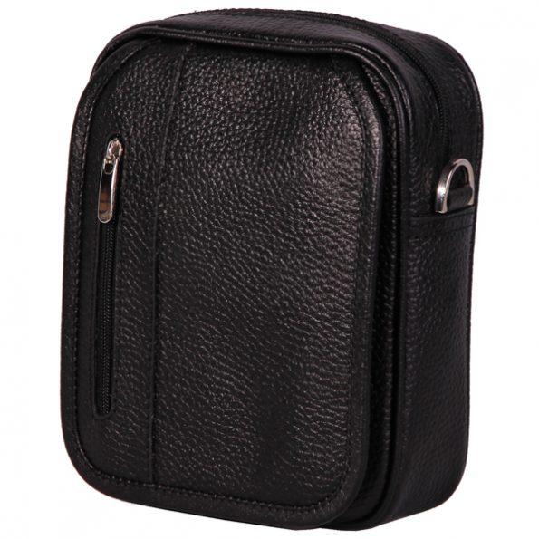 کیف دوشی چرم فلوتر نسترن