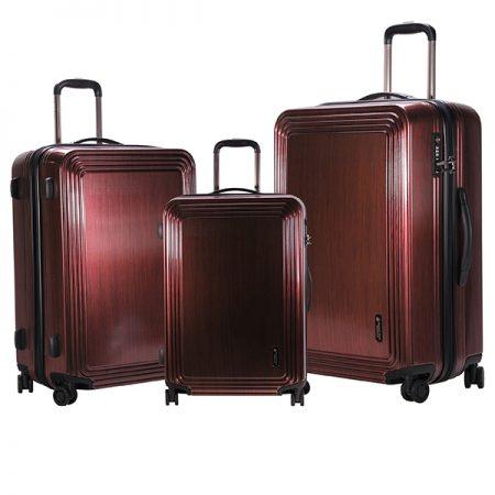 مجموعه سه عددی چمدان پولو مدل Beverly hills