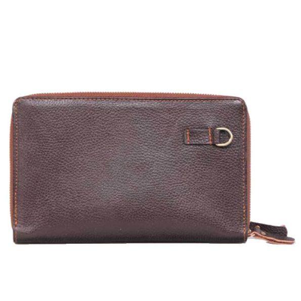 کیف دستی چرم پاسپورتی فرید